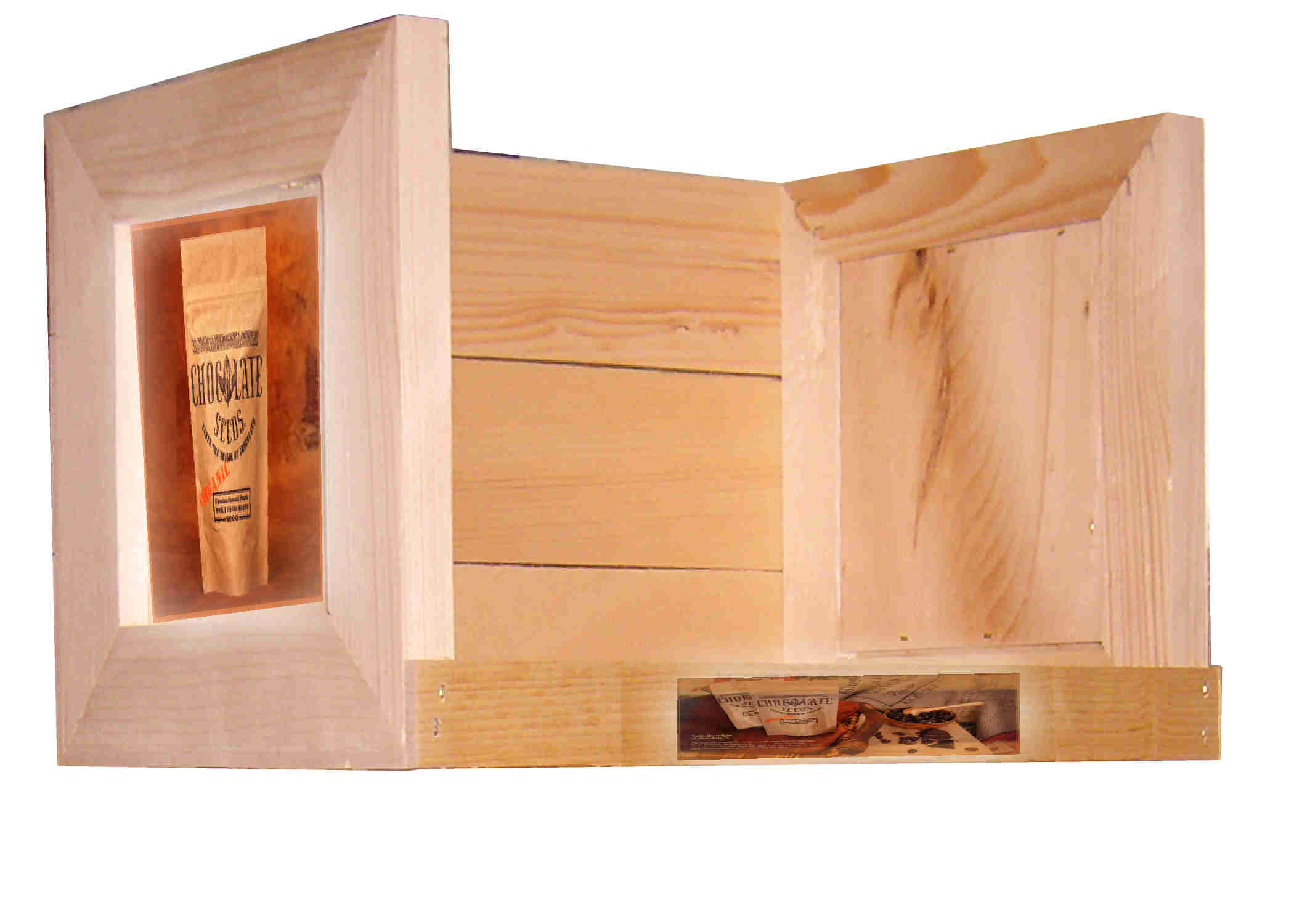 Custom wooden crates add value to your products