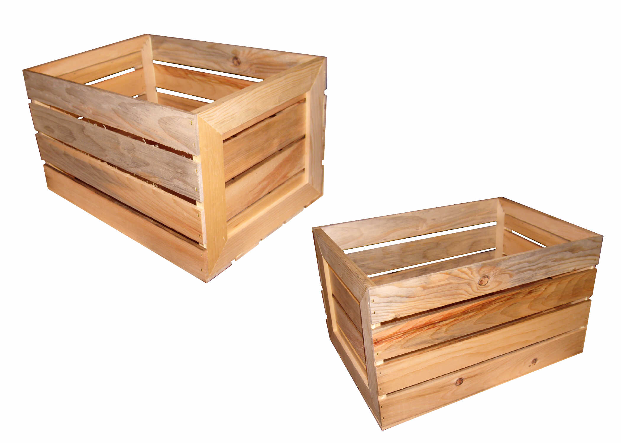 custom wooden boxes crates and baskets